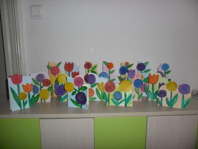 Цветя за мама - ДГ №100 Акад. Пенчо Райков - София, Оборище