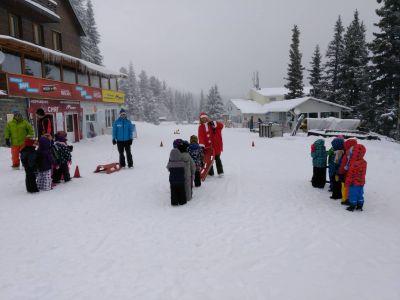Срещи с Дядо Коледа - ДГ №100 Акад. Пенчо Райков - София, Оборище